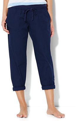 New York & Co. Love, NY&C Collection - Slim Slouch Crop Pant