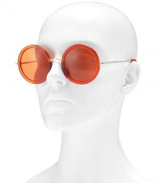 The Row 8 round-frame sunglasses