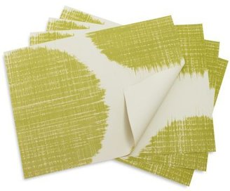 Chilewich Apple-Green Brush Dot Placemat