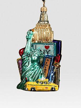 Kurt Adler Polonaise New York Collage Ornament