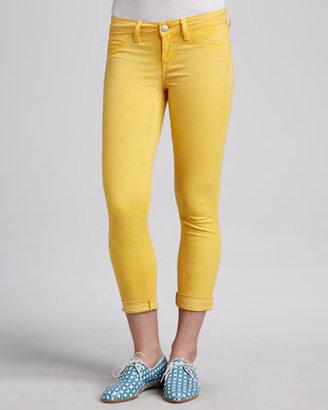 Sold Denim Cuffed Skinny Jeans