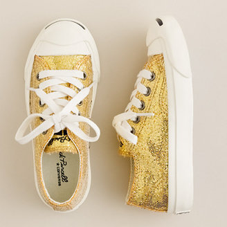 Jack Purcell Girls' Converse glitter sneakers