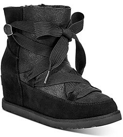 UGG Women's Classic Femme Lace-Up Booties
