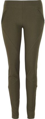 Joseph Squad stretch-gabardine leggings-style pants