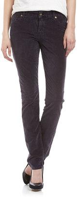 Christopher Blue Sophia Skinny Velvet Jeans, Shadow