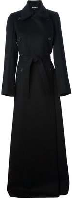 Ann Demeulemeester long double-breasted coat