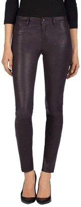 J Brand Women's '8001' Lambskin Leather Pants