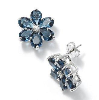 Vera Wang Simply vera sterling silver crystal earrings