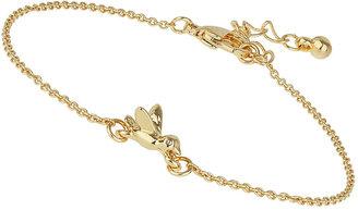 Topshop Gold plated bird bracelet