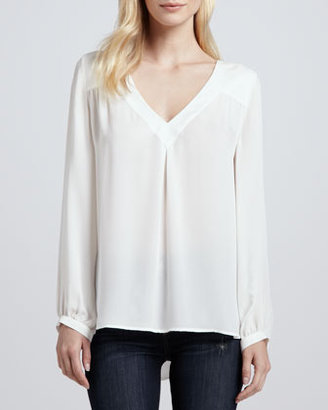 Joie Frenchie B Silk Blouse