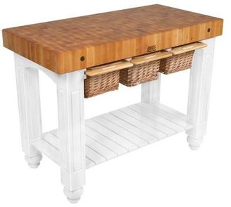 """John Boos Co John Boos & Co.® Gathering Block Tables, 48"""" x 24"""""""