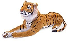 Melissa & Doug Plush Tiger - Ages 3+