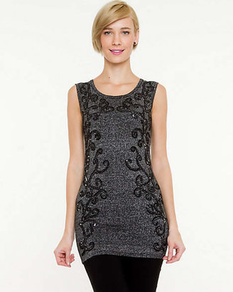 Le Château Mirrored Embellishment Tunic