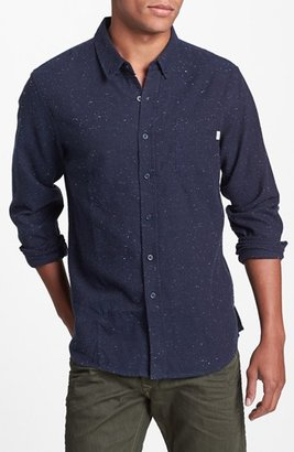 Obey 'Last Call' Cotton Flannel Shirt