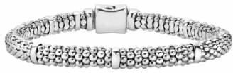 Lagos Caviar Rope Station Bracelet
