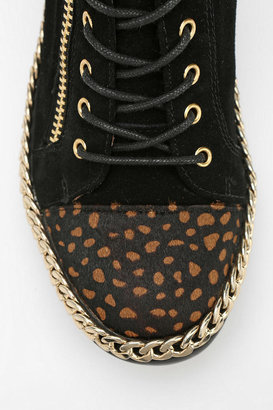 Jeffrey Campbell Adams Side-Zip High-Top Sneaker