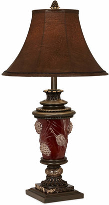 Pacific Coast Pine Cone Glow Table Lamp