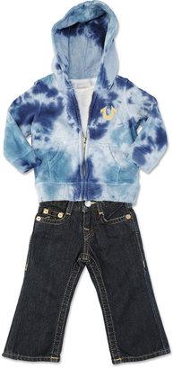 True Religion Camo Tie Dye Infant 3-Piece Gift Set