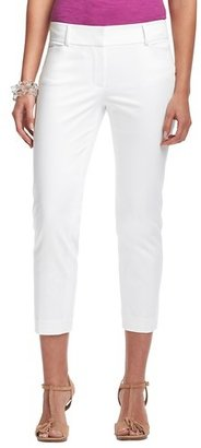 LOFT Zoe Cropped Pants in Cotton Sateen