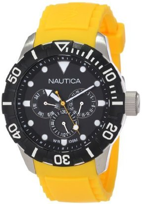 Nautica Unisex N13644G NSR 101 Multi- South Beach Classic Analog with Enamel Bezel Watch $103.99 thestylecure.com