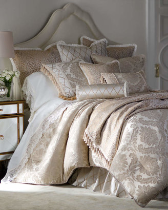 Isabella Collection By Kathy Fielder Darby Standard Damask Sham with Cording