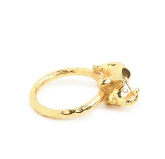 BaubleBar Gold Elephant Ring