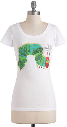 Out of Print Novel Tee in Hungry Caterpillar