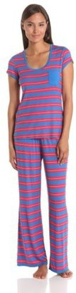 Natori Josie by Women's Indo Stripe Pajama Set