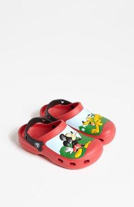 Crocs CROCSTM 'Mickey® Whistles' Clog (Walker, Toddler & Little Kid)