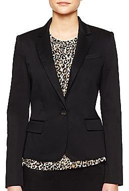 Mng by Mango® Fitted One-Button Jacket