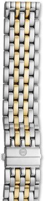 Michele Deco XL Two-Tone Bracelet Strap, 20mm