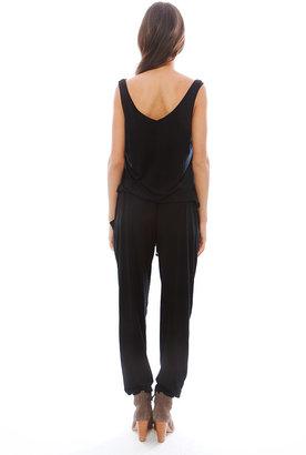 Feel The Piece Claudia Jumpsuit in Black