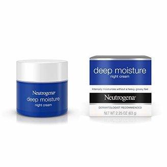 Neutrogena Deep Moisture Night Cream with Glycerin & Vitamin D3