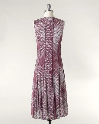 Coldwater Creek Checkmate mesh dress