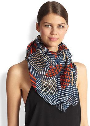 Yarnz Textile Linen & Rayon Scarf