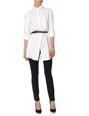 J.W.Anderson White Cotton Shirt Dress