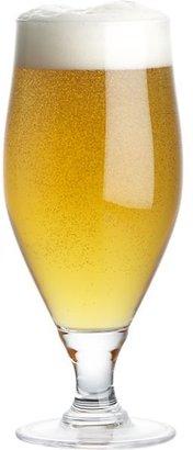 Crate & Barrel Hops Beer Glass