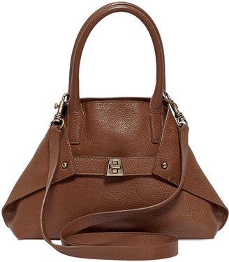 Akris Ai Cervo Leather Tote Bag, Little