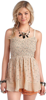 Free People Cotton Time's A-Wastin' Tank Top