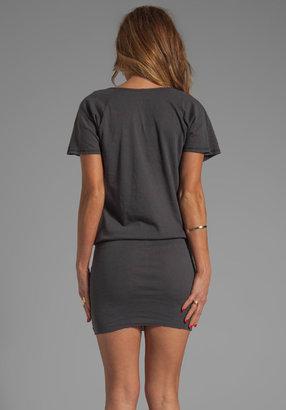 Bobi Light Weight Jersey Scoop Neck Dress