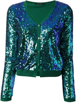 Twin-Set sequinned cardigan