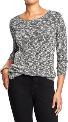 Old Navy Women's Marled Crew-Neck Sweaters