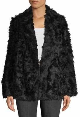 Theory Clairene Jackson Faux Fur Jacket