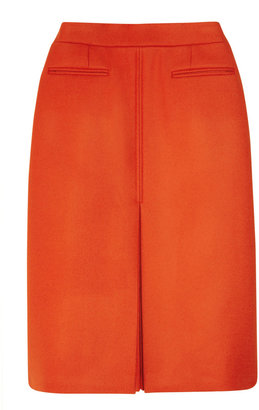 Stella McCartney Kelly wool-twill skirt