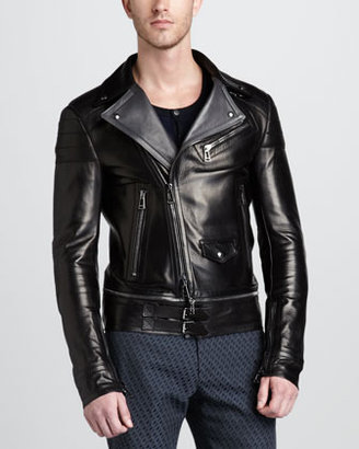 Belstaff Colwyn Leather Motorcycle Jacket