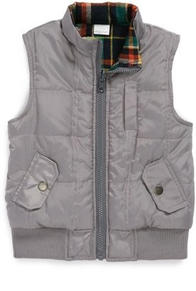 Sovereign Code 'Reverb' Quilted Zip Vest (Toddler Boys)
