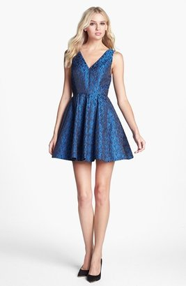 Erin Fetherston Erin by 'Soiree' Jacquard Fit & Flare Dress