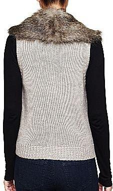 Mng by Mango® Faux Fur Vest