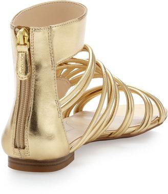 Boutique 9 Metallic Strappy Sandal, Gold