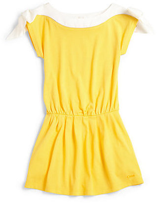 Chloé Girl's Bow Dress